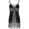 john richmond, cross, lace, black - Dresses -