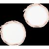 johnlewis Twisted Hoop Earrings, Rose Go - Earrings - £12.00  ~ $15.79