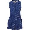 Jumpsuit Blue Overall - Kombinezony -