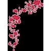 Flower Corner Frame - Frames -