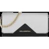 karl-lagerfeld-k-klassik-chain-wallet-bl - Kleine Taschen -