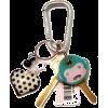 keys with monkey key ring - Predmeti -