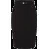 Black Pencil Skirt - Gonne -