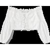 lace up blouse - Tunike -