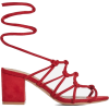 lace up heels - Sandalen -