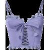 lavender top - Bolero -