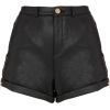 Leather Shorts - Shorts -