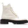 leather-combat-boots - Stiefel -