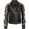 leather jacket -   ELIE SAAB - Chaquetas -