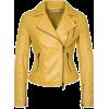 leather jacket - - Jakne in plašči -