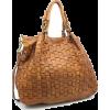 leather messenger bag - メッセンジャーバッグ -