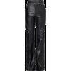 leather pants1 - Pantalones Capri -