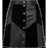 leather skirt1 - Skirts -
