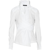 DONNA KARAN-blend Wrap Shirt - Long sleeves shirts - 536.69€  ~ $624.87