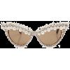 Lena Sunglasses White - Sunglasses -