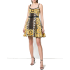 leopard and baroque print mini dress - Ljudi (osobe) -