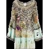 leopard dress - Vestidos -