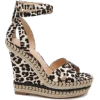 leopard wedges - Plutarice -