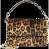 leo print bag - Hand bag -
