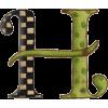 letra H - Rekviziti -
