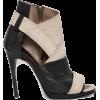 lexander McQueen Lara Peep Toe Bootie - Classic shoes & Pumps -
