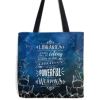 library tote by Stella bookish art - Travel bags -