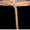 light brown leather belt - Remenje -