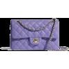 lilac bag - Clutch bags -