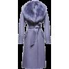 lilac coat - Chaquetas -