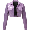 lilac jacket - Jakne i kaputi -