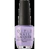 lilac nail polish - Kozmetika -