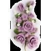 lilac roses cake spray - Plantas -