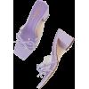 lilac sandals - Sandals -