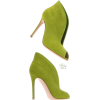 lime booties - Stiefel -