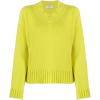 lime cashmere sweater - Pullovers -