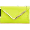 lime clutch - Clutch bags -
