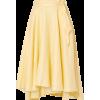 MIGUELINA linen midi skirt - Skirts -