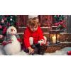 little girl winter Christmas photo - Uncategorized -