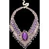 ljubičasta ogrlica - Necklaces -