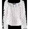 low-cut design long-sleeved shirt - Košulje - kratke - $25.99  ~ 165,10kn