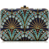 lue Amulet Crystal Clutch Judith Lieber - Clutch bags -