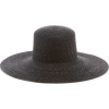 lyde Wide-Brim Straw Hat - Hat -