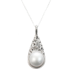 mabe pearl pendant necklace - Halsketten -