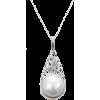 mabe pearl pendant necklace - Naszyjniki -