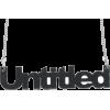 untitled ogrlica - Necklaces -