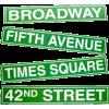 Broadway - Teksty -