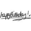 happy birthday - Textos -