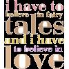 love - Teksty -