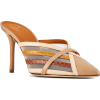 malone souliers PIPER 85MM BROWN ELAPHE - Classic shoes & Pumps -
