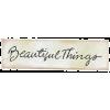 Beautiful Things - Texts -